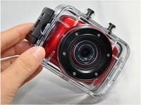 2014 New Waterproof Digita Helmet Action Video Sport Camera DV DVR Cam Camcorder For Bike/Diving/Surfing/Ski/Skydiving