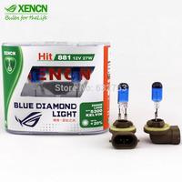 XENCN 881 12V 27W 5300K Emark Bluish White Light Stylish Look Halogen Car Bulbs Xenon Look Fog Lamp Reliable Quality