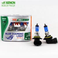 New XENCN HB4 9006 12V 51W 5300K Emark Bluish White Light Xenon White Bright Look Halogen Car Bulbs High Luminous Flux Fog Lamp
