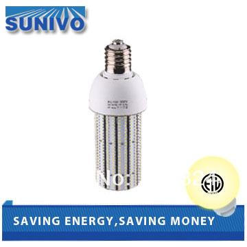 18pcs/ bag LED corn light e27 e26 e39 e40 base bulb 40W with ETL certification(China (Mainland))