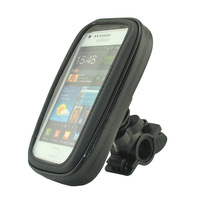 Free shipping Waterproof Bicycle Bike Mount Holder Case Cover for Samsung Galaxy Note 2 N7100