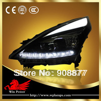 For 2008-2012 Nissan Teana Headlight  with Bi-xenon Projector LED turn light