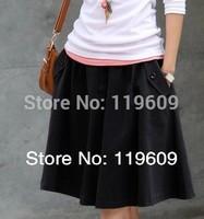 Plus size half-length skirts Pleated skirt new arrival women skirts women summer autumn fashion skirt free shipping