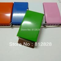 "10pcs 1"" 25mm Green Enamel Painted Belt Buckles FREE SHIPPING"
