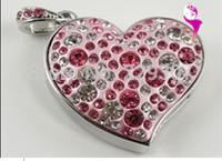 heart-shapedusb flash drive  8g creative gifts U disk  pen drive special high-grade girls nationwide shipping