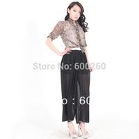 Stylish Women's Wide leg Loose Chiffon Gauze Pants Long GAUCHO Trousers FREE SHIPPING 5446
