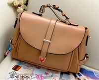 HOT new 2014 fashion women handbag vintage shoulder bag women messenger bags candy color women leather handbags