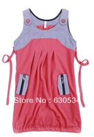 Brand Korean Version Tunic Dress-Vest For Pregnant Gravida As Maternity Clothes.One Size.Two Colors.Free Shipping