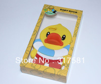 Silicone Phone shell ,Big yellow duck   Mobile protective shell,, 001