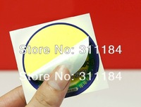 custom printing adhesive packaging label sticker glossy laminated paper sticker full color