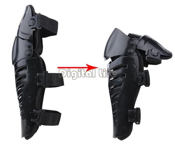 2Pairs/lot wholesale Motocross Protector Motorcycle Motorbike Racing Knee Pads Guard Protective Gear Black TK1199 SV16(China (Mainland))