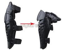 2Pairs/lot wholesale Motocross Protector Motorcycle Motorbike Racing Knee Pads Guard Protective Gear Black TK1199 SV16