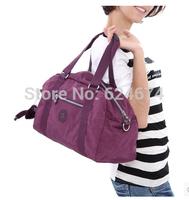 2014 New 5 colors Women Bags  Free Shipping Fashion KIP Sport Bag Shoulder Messenger Bag Cylinder Gym Totes,duffel bag