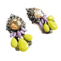 New arrive 2014 Hot sale Korean  earring women fashion shourouk crysta statement stud  Earrings for women jewelry wholesale