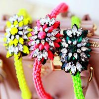 New Bracelets & Bangles Fashion high quality shourouk crystal bracelets & bangles for women jewelry wholesale factory price