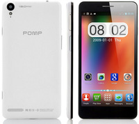 2013 New POMP C6 phone android 4.2 MTK6589T 1.5G Quad core RAM 2G ROM 32G1920*1080 5.5 inch Gorilla Glass 13MP SG  free shipping