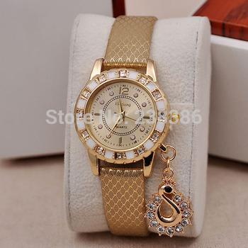 Tgjw020 мода леди платье часы класса люкс лебединое подвеска наручные часы женщины кварцевые Relogio часы