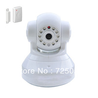 HD Wireless Tilt Pan doorbell alarm IP camera, indoor home security, 1megapixel, 720P, PnP, 2 way audio, support max 32G TF card