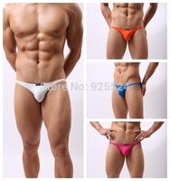 BRAVE PERSON Men's briefs (White, black, orange, rose red, sky blue)(S,M,L)can Mixed batch