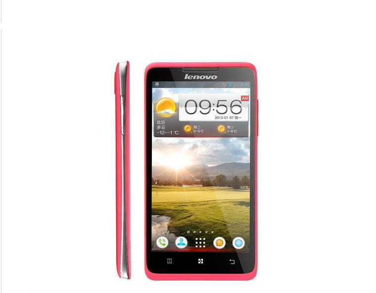 """Original 298 a656: 5"""" 4.2 téléphone androidips écran, quad- core 1.2g sla4k, dual sim d'origine, authentique, a656, lenovo"""