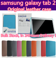 Original Samsung leather case Case Business cover for samsung galaxy tab 2 10.1 P7510 P7500 P5100 P5110 P5113 free shipping