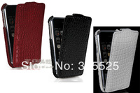 GETLAST FREE SHIPPING FOR IPHONE3G 3S NEW IN 2014 LUXURY FASHION COOL CROCODILE STYLE FLIP LEATHER HARD BACK CASE COVER