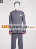 Star Trek Into Darkness Star Trek Academy Gray Uniform Cosplay Costume
