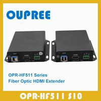 OPR-HF511 S10 Singlemode Fiber Optic HDMI Extender transceiver,Long Distance Up to10KM (32800 FT) HDMI Extender over Fiber Optic