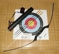 Foldable Riser Long Bow Aluminum Handle Polyester Thread Bowstring Fiberglass 40lbs Bow For Cross Bow Arrow Bag Hunting Bow
