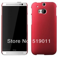 For HTC One 2 Plastic Case,New Rubber Hard Back Case For HTC One 2 M8