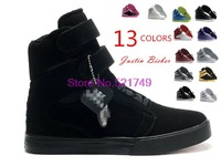 Justin Bieber Brand Skateboarding Shoes Men's And Womens  Casual Running Shoes Winter 2014 New Fashion Sneakers For Lovers