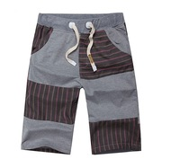 New fashionable casual loose shorts men's popular sport shorts men striped pants