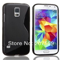 For Samsung Galaxy S5 Case,Anti-skid S Line Soft TPU Gel Skin Cover for Samsung Galaxy S5 i9600