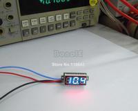 5pcs/Lot Wholesale High Quality DC 0-100V Blue LED Panel Meter Voltage Volt Meter Digital Voltmeter TK1216