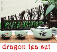 Genuine, dragon teapot, Taiwan porcelain high-grade teapot, manual process, the manufacturers supply, wholesale,freeshipping!!