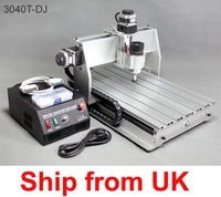 Shipping from UK Newest Arrived 3040T-DJ update CNC Router engrave/engraving drilling and milling machine