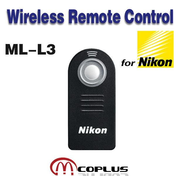 ML-L3 Wireless Remote Control for Nikon D3100 D3000 D3200 D5000 D5300 D5200 D5100 D7000 D7100 D90 D80 D60 D800 D600 D300s D200(China (Mainland))