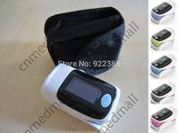 +Protect Bag health necessities Fingertip Pulse Oximeter, Blood Oxygen SpO2 saturation oximetro monitor BP sound function