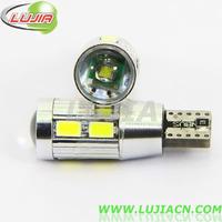 2014 NEWS !! Free shipping 2PC/lot  Car Auto LED T10 194 W5W Canbus 8 smd 5630 cree LED Light Bulb No error led light