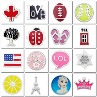 50 pieces Assorted Mixed Free shipping  Fashion floating charm for living lockets