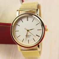 18 Different Styles Fashion Golden Watches for Women Dress Watches Quartz Watches 1pcs/lot