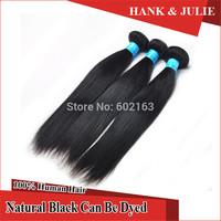 "6A Unprocessed Human Hair Peruvian Virgin Hair Extension Natural Straight  8""-30"" 3pcs/lot Human Hair Products"