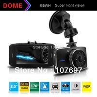 "Novatek 96650 G5WH Car Camera Video Recorder Full hd 1080P 30fps 3.0""LCD With 170 Degree+Motion Detection+Night Vision+G-Sensor"
