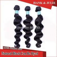 "6A Peruvian Virgin Hair Peruvian Loose Wave 100% Human Hair Weave 3pcs/lot Mixed 12""-28"" Virgin Hair Extension"