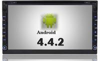 "Free Shipping+ 6.95""Android 4.4 Car DVD player GPS Wifi 3G Bluetooth 2 DIN universal X-TRAIL Qashqai x trail juke for nissan"