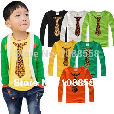 New 2015 HOT Children's T-shirt Baby boy girl's long sleeves T shirts Child Children's Clothing free shipping cartoon t-shirt(China (Mainland))
