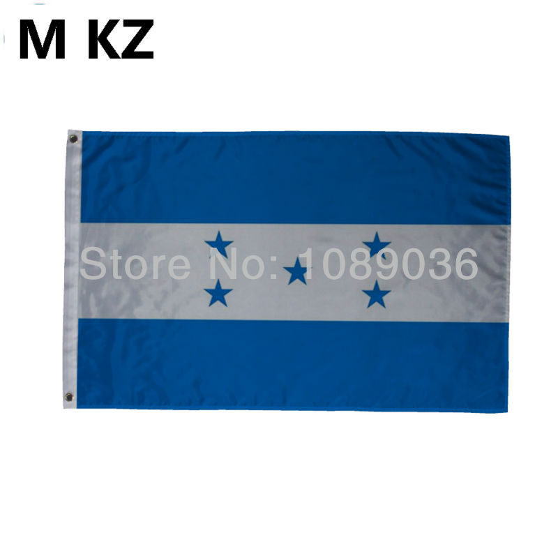 2014 world cup soccer flag country flag of Honduras 100D flag 3 x 5 flag(China (Mainland))