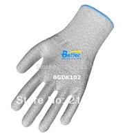 Butcher Working Gloves Aramid Fiber Cut Resistance Gloves Glass Handing Gloves HPPE Cut Resistant Work Gloves