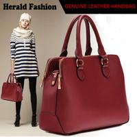 Women Handbag Genuine Leather Causal Desigual Bag Women Shoulder Bags Office Bags With Double Zipper Bolsas Femininas 2014