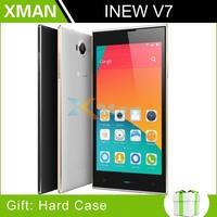 "Original INEW V3 Quad Core MTK6582 Smartphone 1.3GHz 1G RAM 16G ROM 5.0"" IPS Screen Corning II Gorilla Glass 13MP 3G Black Anna"